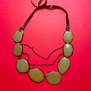 Fall must have necklace from Anthropologie 🍁🍂